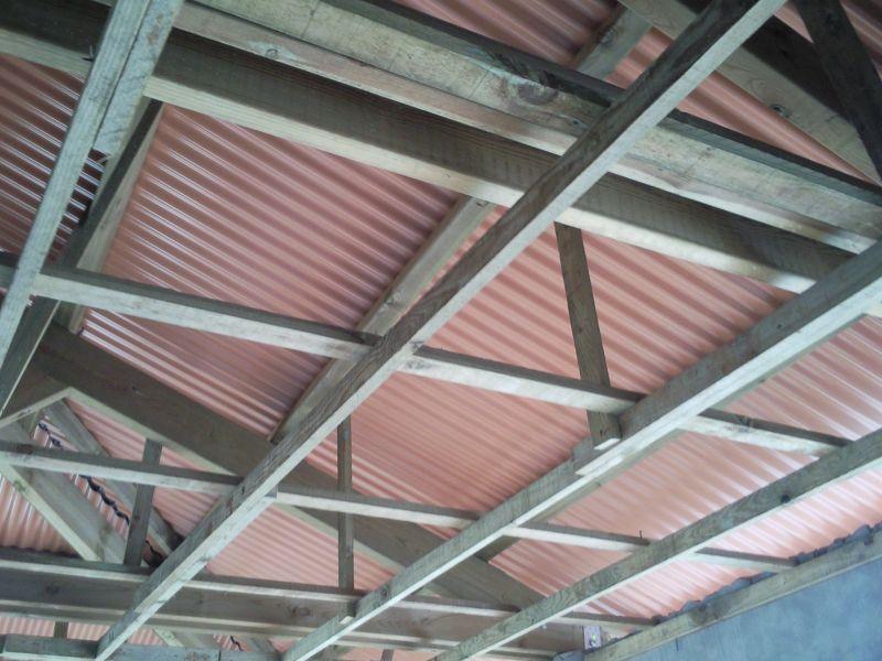 Faux plafond construction de notre cocon familial en for Poser un faux plafond pvc